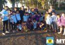 Lucas Janson visitó la Escuelita de fútbol de Nicolás Avellaneda