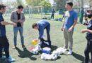 Entregaron material deportivo a la Escuela de Iniciación Deportiva Adaptada