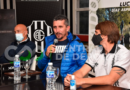 Lucas Díaz Aspiroz recibió un reconocimiento en el Club Estudiantes